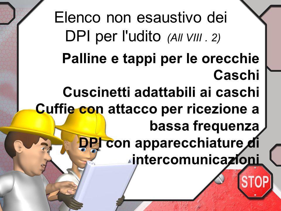 Il DL tiene conto Dellattenuazione prodotta dai DPI solo ai fini di valutarne lefficienza ed il rispetto del valore limite di esposizione. Sono consid