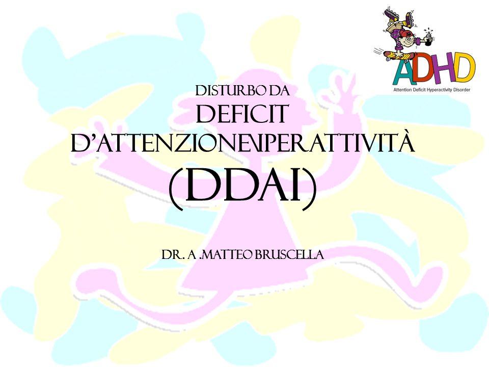 Sono stati condotti diversi studi per verificare la presenza di sottotipi allinterno del DDAI differenti tra di loro sia dal punto di vista cognitivo- comportamentale, che eziologico.