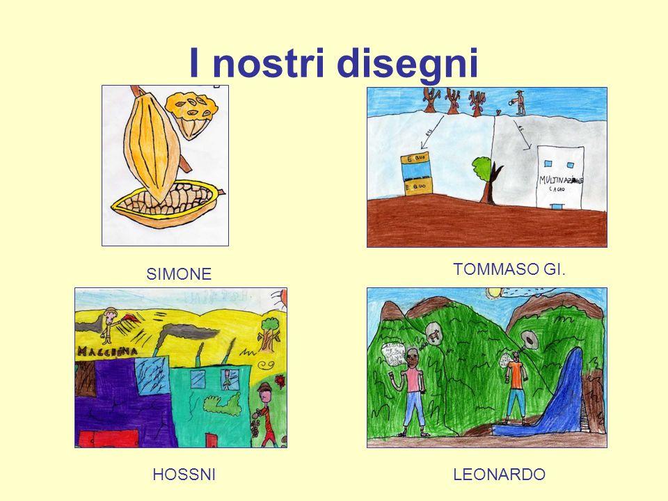 I nostri disegni SIMONE TOMMASO GI. HOSSNILEONARDO