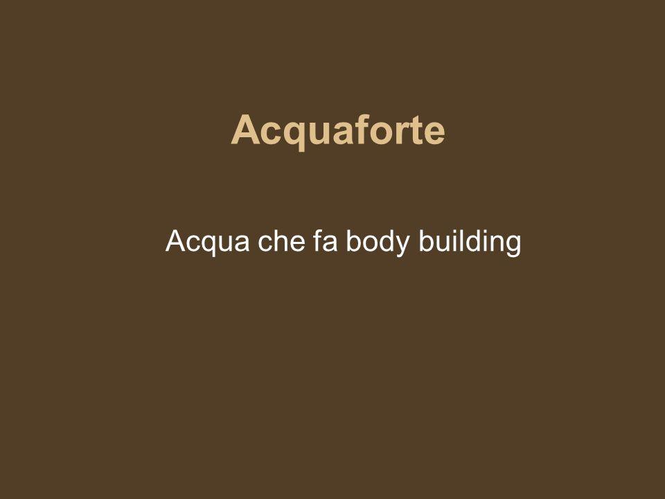 Acqua regia Acqua con origini nobiliari