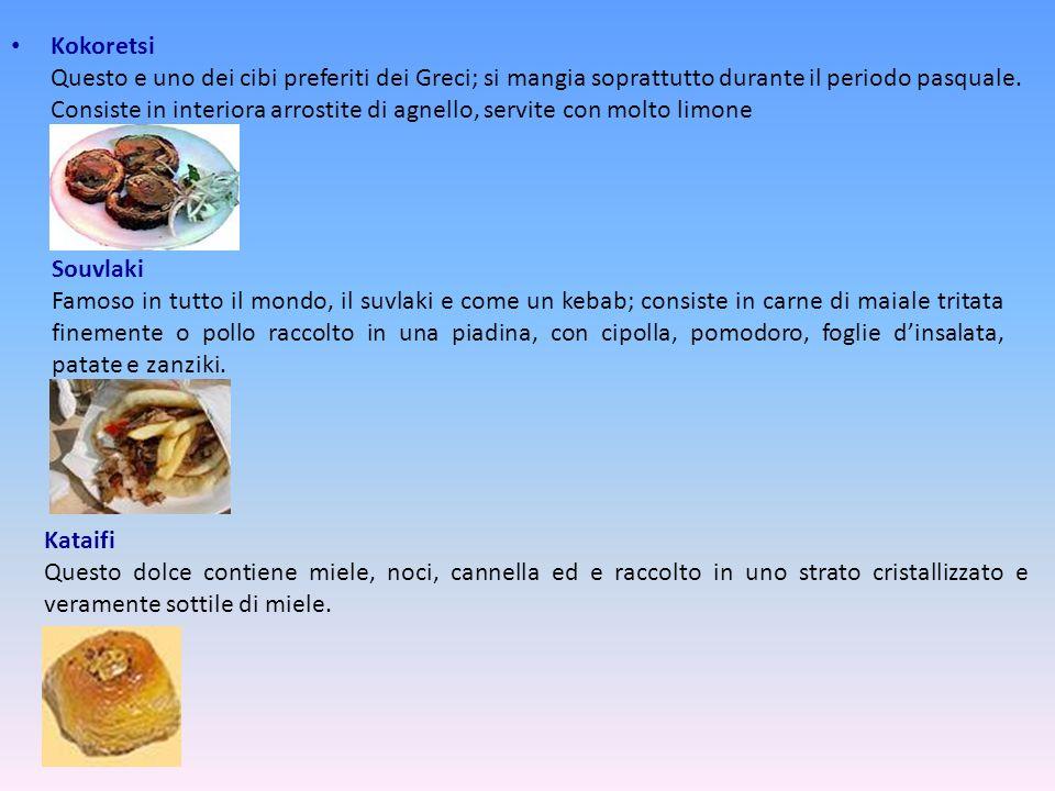 Ctapodi o Ctapodaki Piccoli pezzi di polipo servito a volte fritto con succo di limone o bollito, con olio di oliva, aceto e origano. Formaggio Feta I