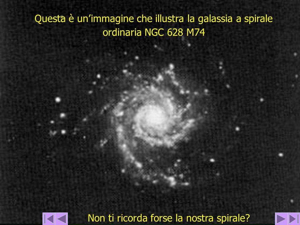 Questa è unimmagine che illustra la galassia a spirale ordinaria NGC 628 M74 Non ti ricorda forse la nostra spirale?