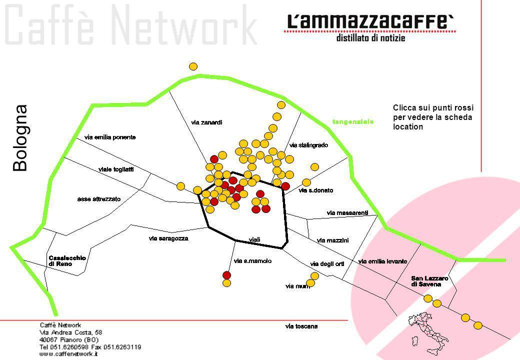 Formosa Caffè Via Ranzani, 15 Zona universitaria Lounge bar Il Formosa Cafè è uno dei locali preferiti dai bolognesi per iniziare la serata.