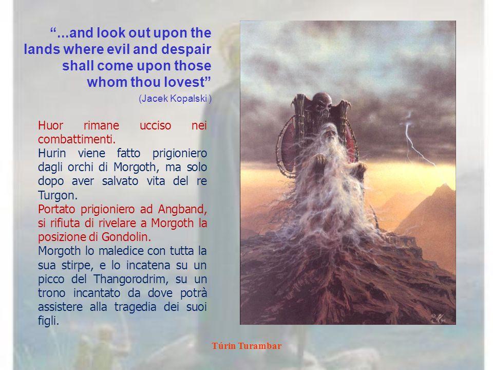 Túrin Turambar Ascent to Amon Rûdh Anke Eissmann Allinterno dellAmon Rûdh vi sono estese gallerie e sale, armerie e fucine.