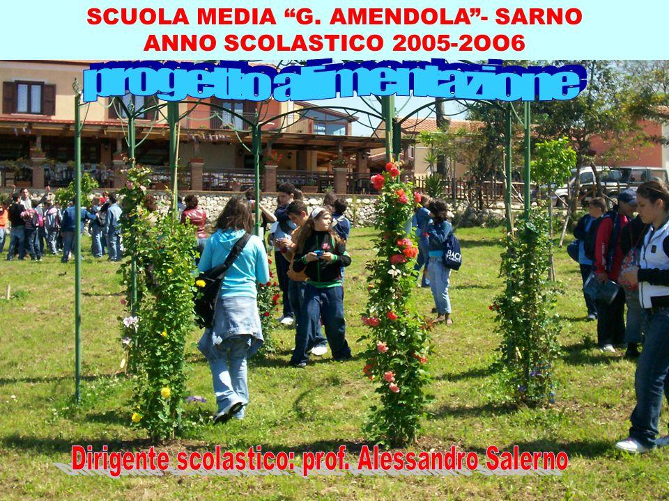 SCUOLA MEDIA G. AMENDOLA- SARNO ANNO SCOLASTICO 2005-2OO6