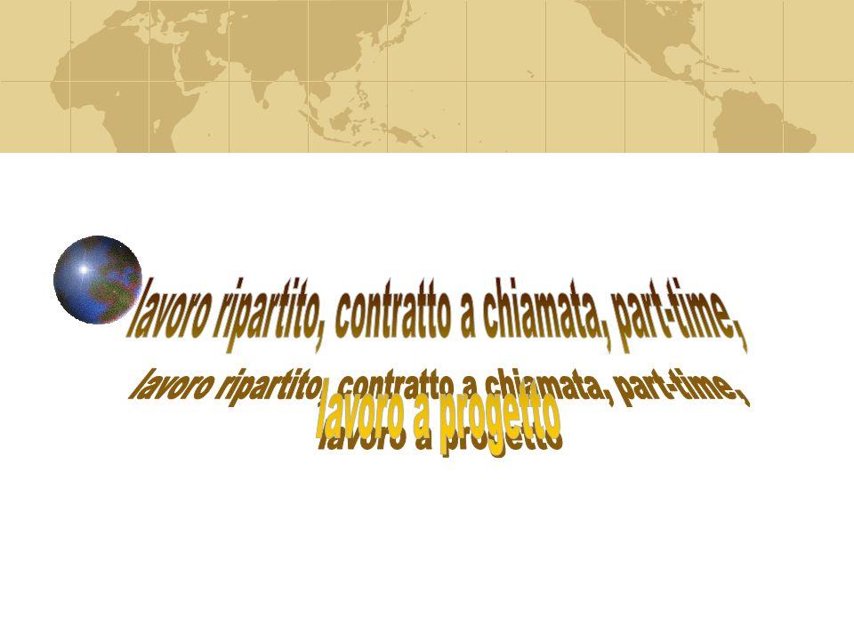 È un contratto di lavoro autonomo È un contratto a termine Si consiglia la forma scritta ai fini della prova.
