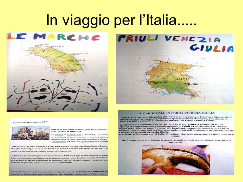 In viaggio per lItalia.....