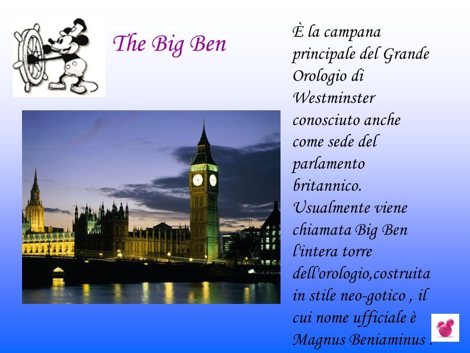 È la campana principale del Grande Orologio di Westminster conosciuto anche come sede del parlamento britannico. Usualmente viene chiamata Big Ben l'i