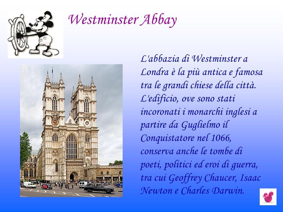 L'abbazia di Westminster a Londra è la più antica e famosa tra le grandi chiese della città. L'edificio, ove sono stati incoronati i monarchi inglesi