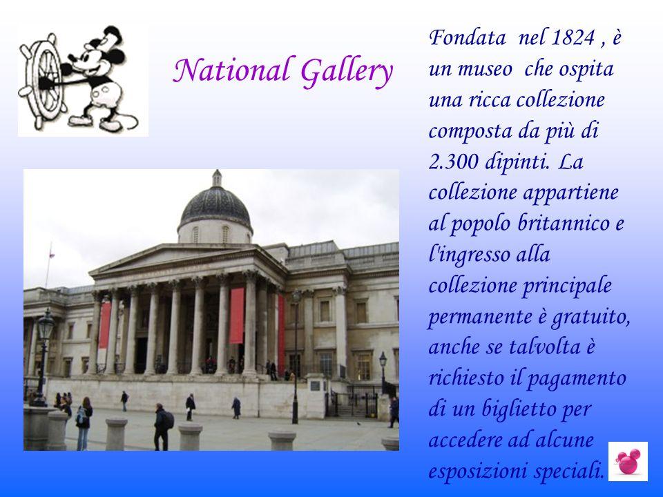 National Gallery Fondata nel 1824, è un museo che ospita una ricca collezione composta da più di 2.300 dipinti. La collezione appartiene al popolo bri