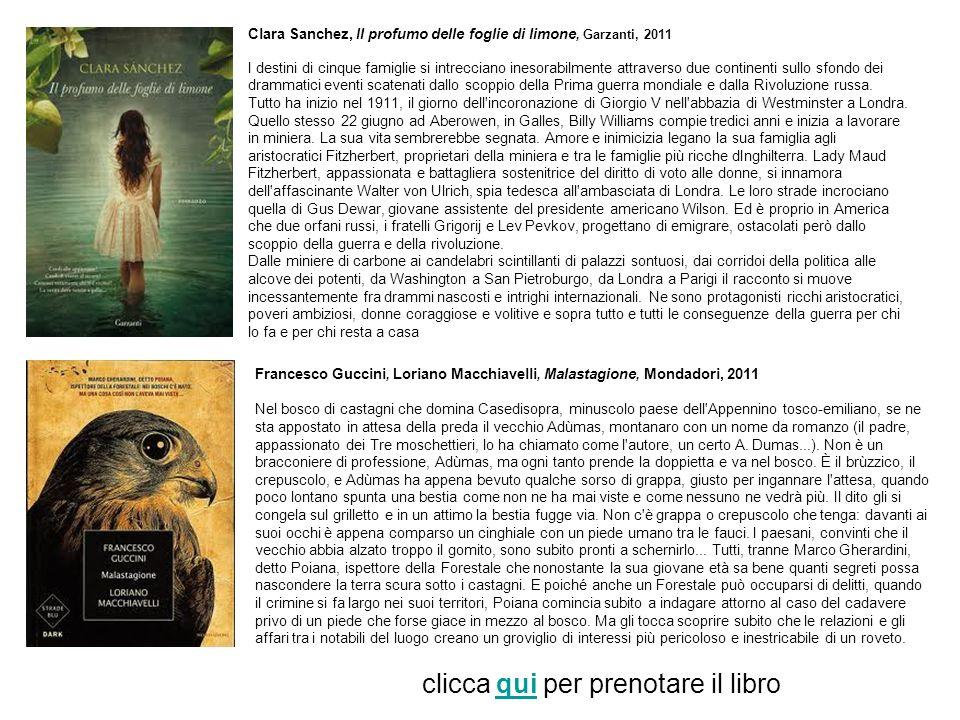 Luciana Littizzetto, I dolori del goivane Walter, Mondadori, 2010 Per noi la Jolanda è un oggetto d uso.