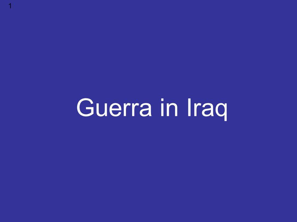 Guerra in Iraq 1