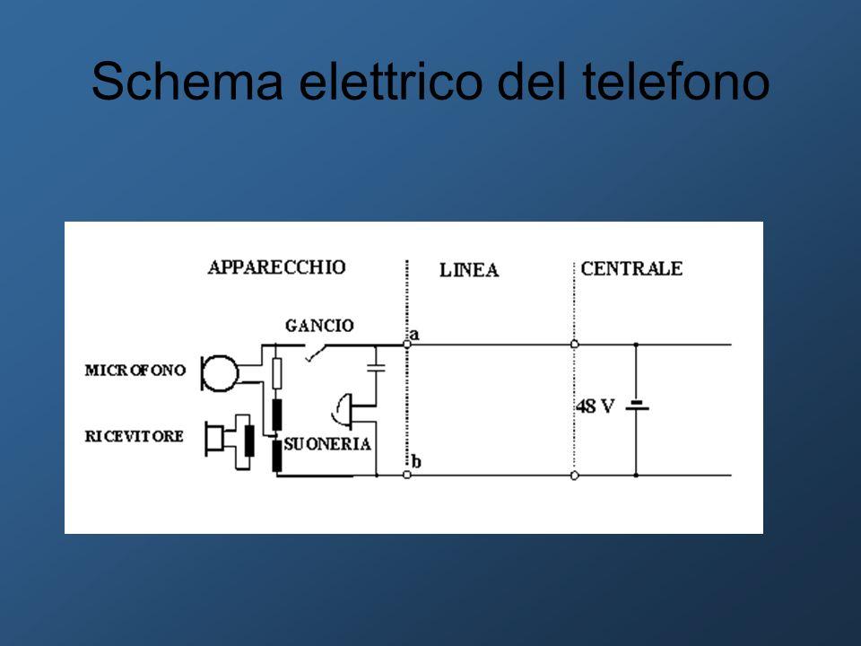 Schema elettrico del telefono