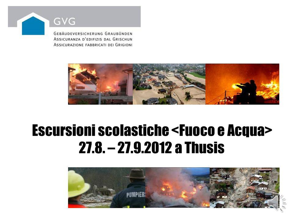 Escursioni scolastiche 27.8. – 27.9.2012 a Thusis