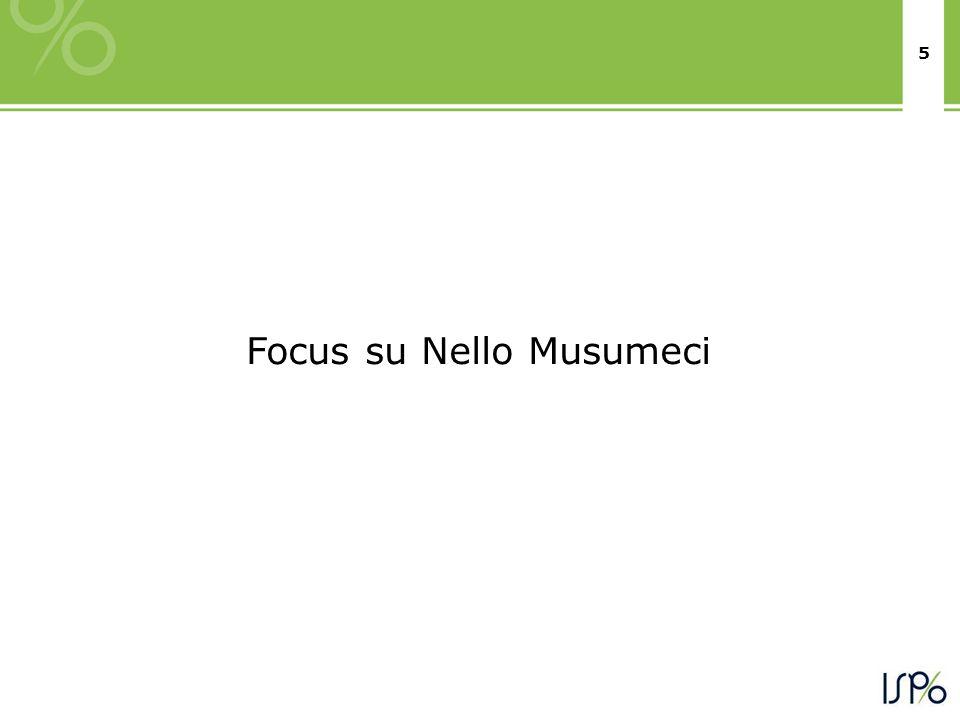 5 Focus su Nello Musumeci