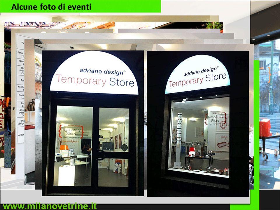 www.milanovetrine.it Alcune foto di eventi