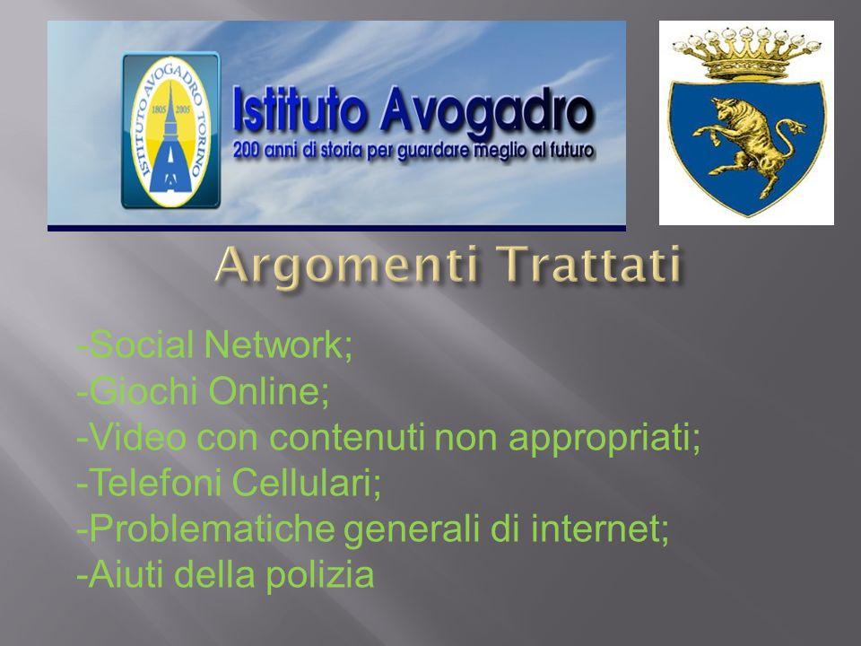 I Social Network: Facebook, Netlog, Twitter….