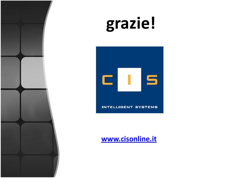grazie! www.cisonline.it