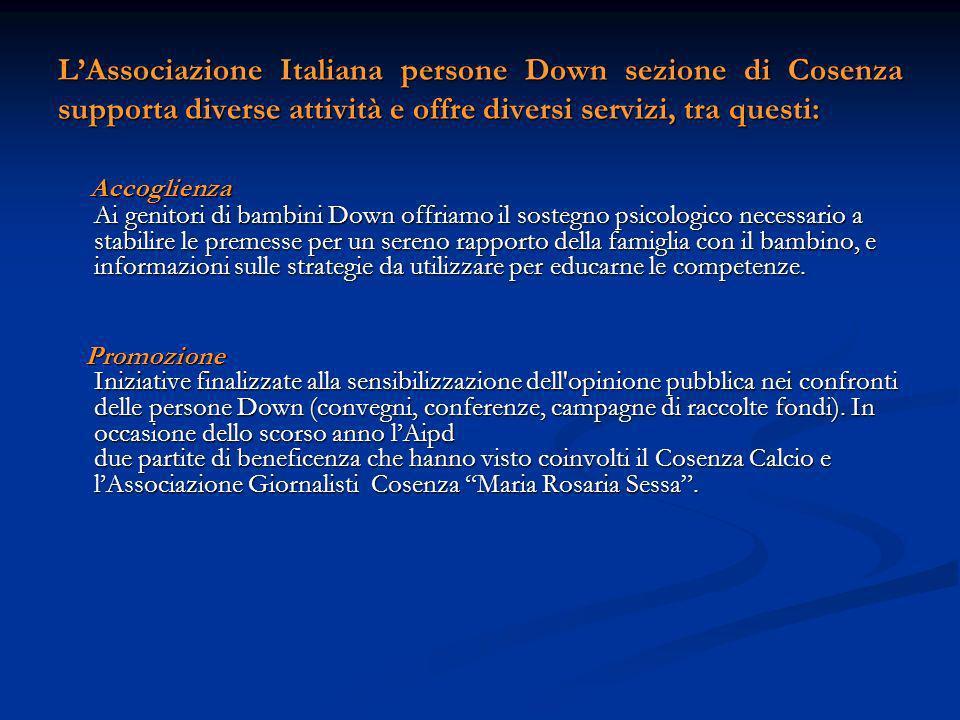 LAssociazione Italiana Persone Down sez.