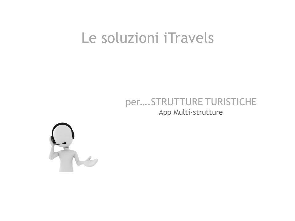 Le soluzioni iTravels per….STRUTTURE TURISTICHE App Multi-strutture