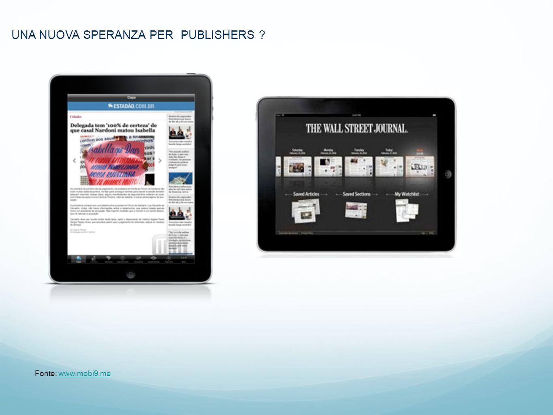 1.Marc UNA NUOVA SPERANZA PER PUBLISHERS ? Fonte: www.mobi9.mewww.mobi9.me
