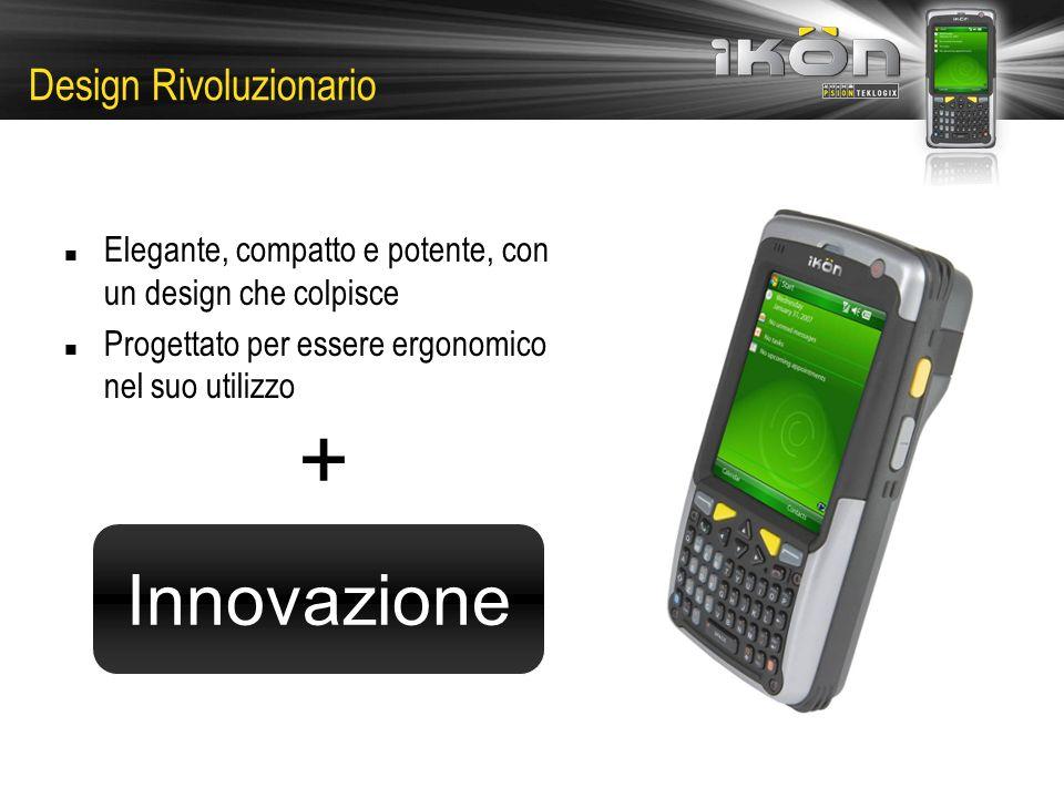 Design Rivoluzionario Elegante, compatto e potente, con un design che colpisce Progettato per essere ergonomico nel suo utilizzo + Innovazione