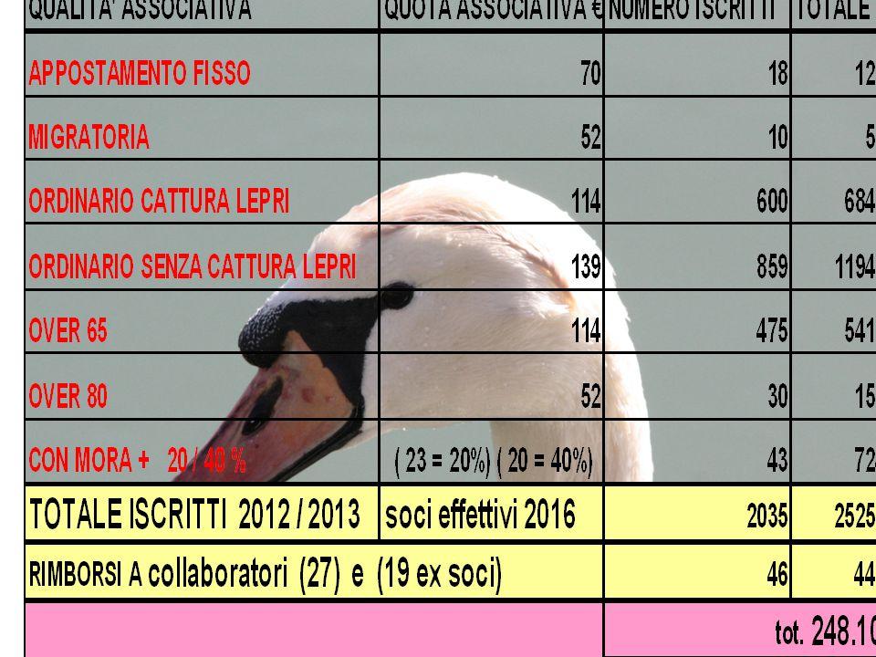 COMMISSIONI GESTIONALI Commissione selvaggina Commissione gare (dal 2010) ZONE ROSSE immissione della SELVAGGINA tabellatura : A.T.C.