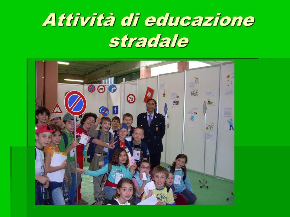 Attività di educazione stradale