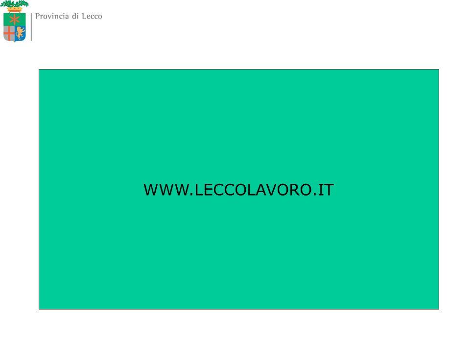 WWW.LECCOLAVORO.IT