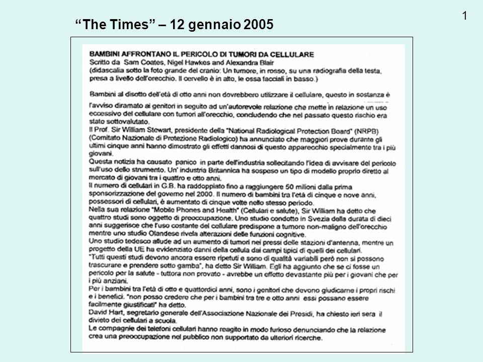 The Times – 12 gennaio 2005 1