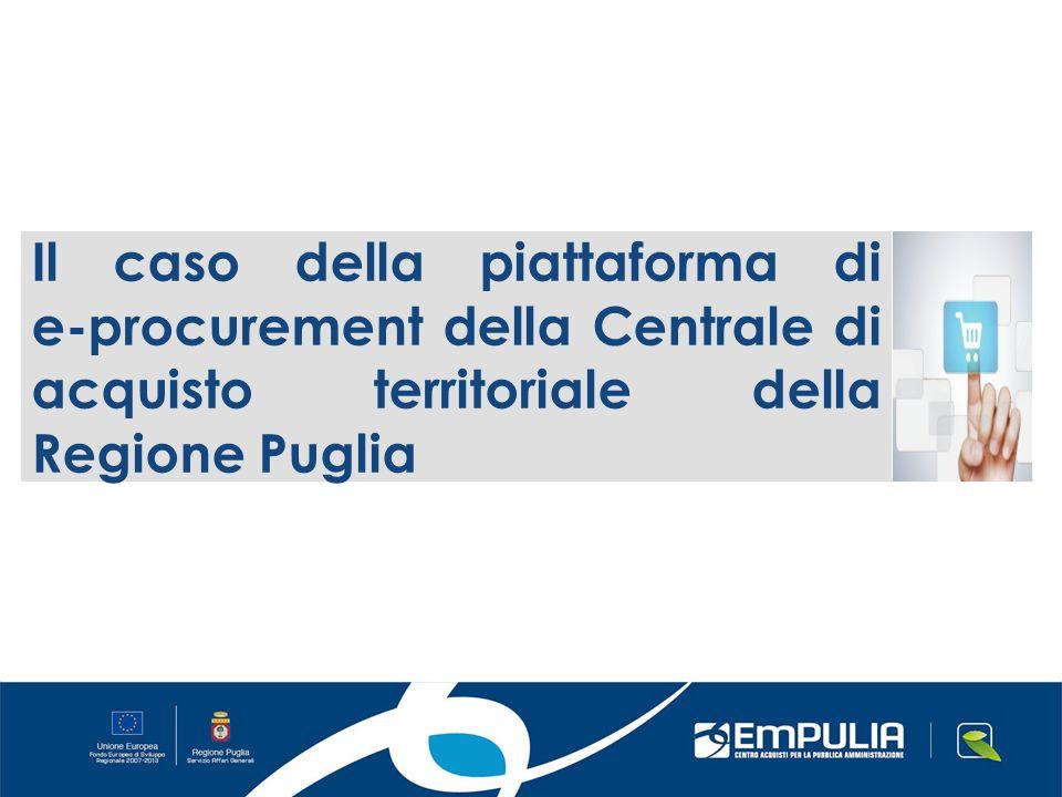 Il caso della piattaforma di e-procurement della Centrale di acquisto territoriale della Regione Puglia