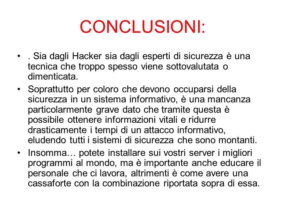 CONCLUSIONI:.