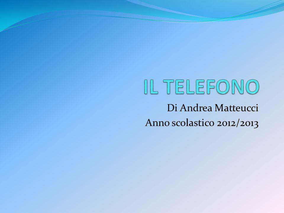 La Storia Nel 1876 Alexander Graham Bell brevetta il suo apparecchio telefonico ed ottiene i successi che per anni Antonio Meucci ha solo sperato.