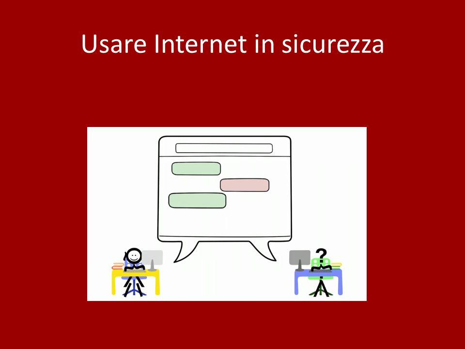 Usare Internet in sicurezza