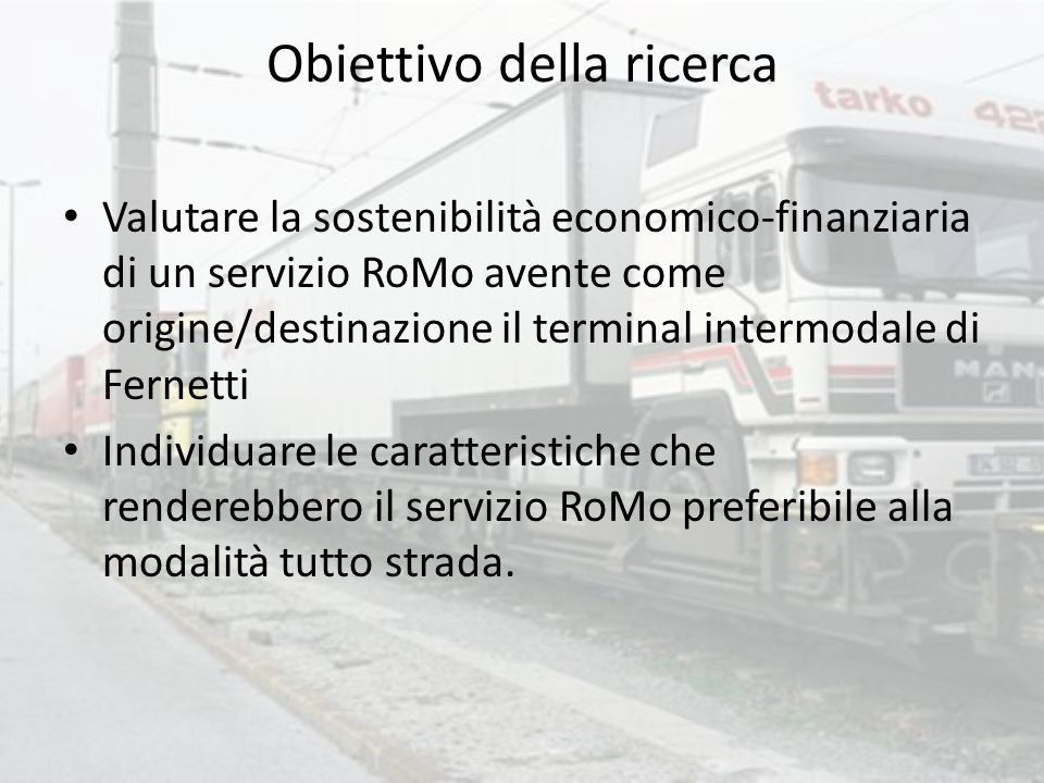 Fernetti - Chop Republic of Slovenia, Ministry of Transport, Railways Directorate 2004 Intermodal Transport in the Republic of Slovenia Present state, opportunities and challenges
