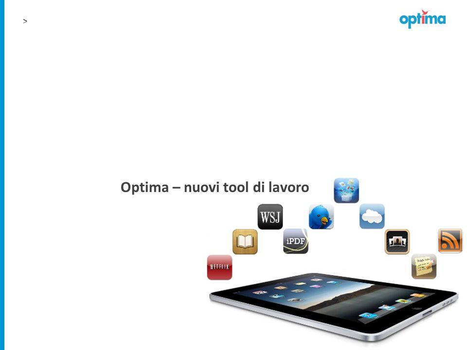 > Optima – nuovi tool di lavoro