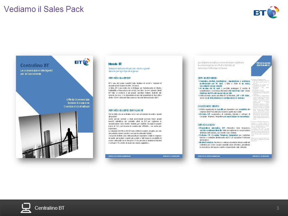 Centralino BT 3 Vediamo il Sales Pack