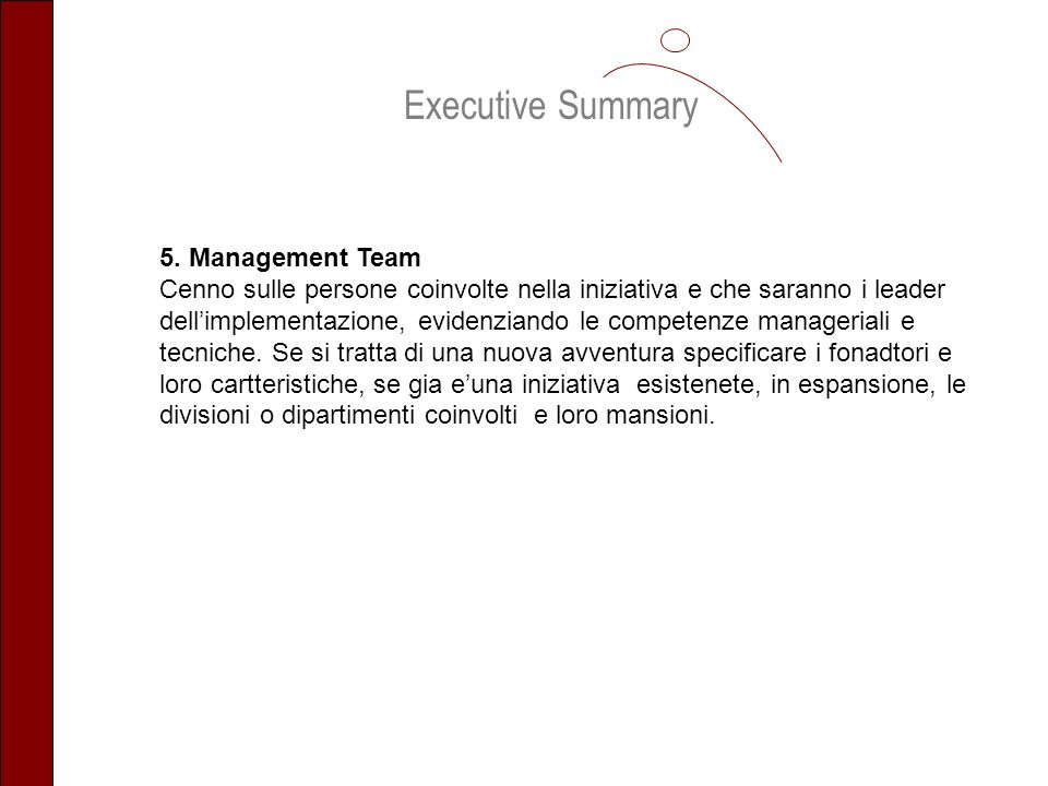 Executive Summary 5.