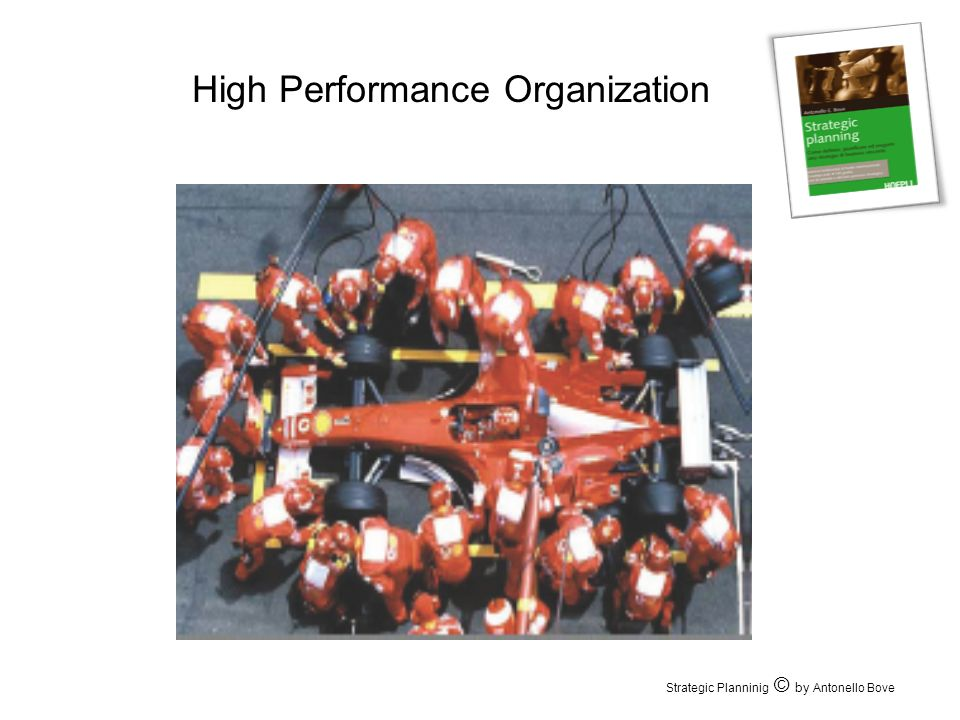 High Performance Organization Strategic Planninig © by Antonello Bove