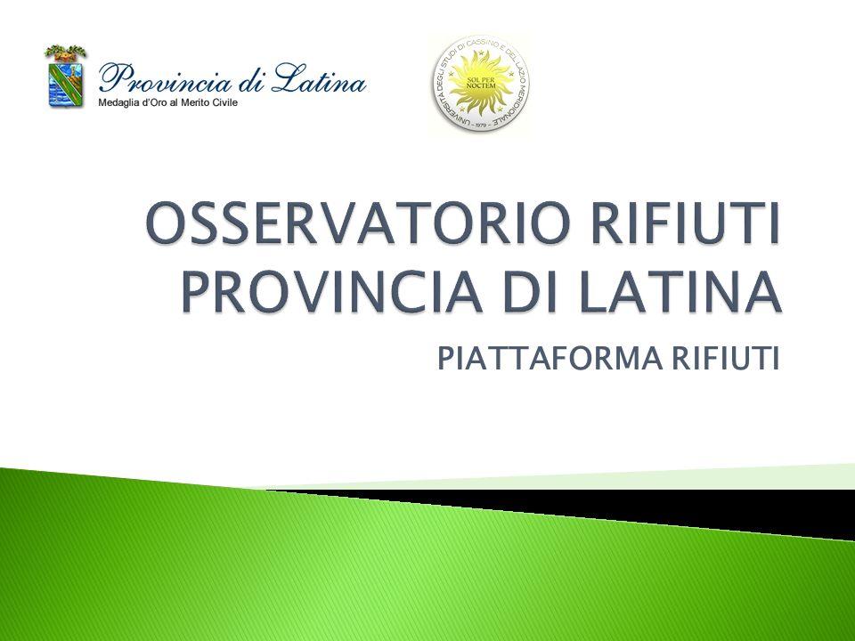 PIATTAFORMA RIFIUTI