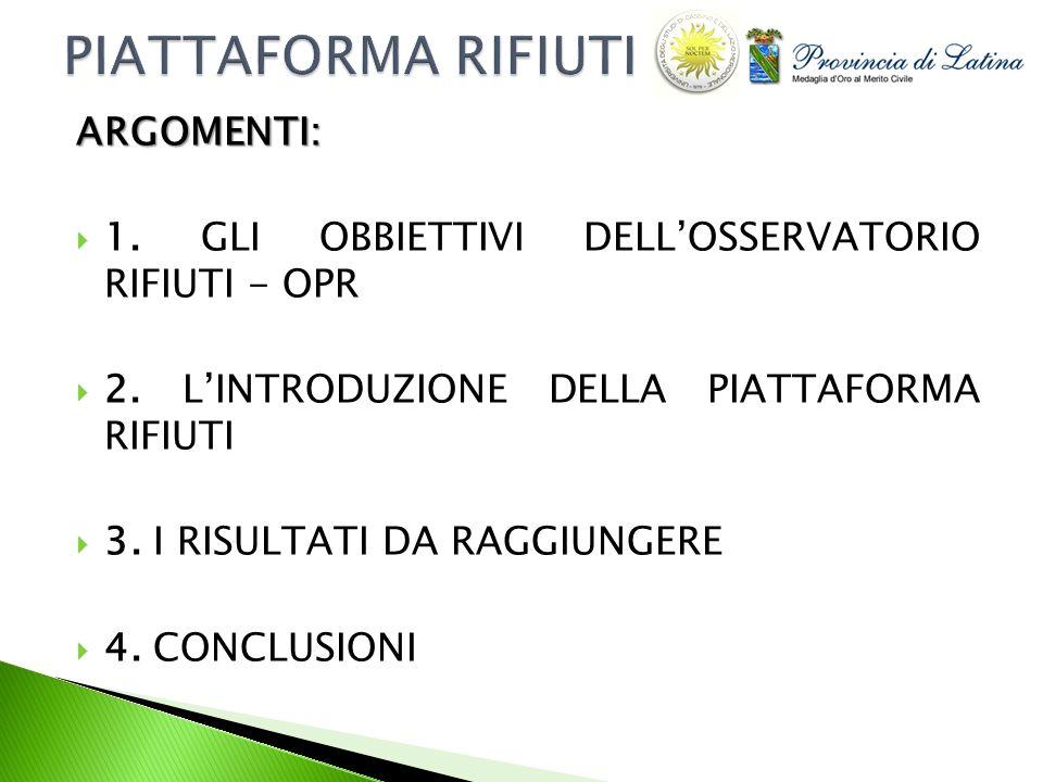 Elenco Impianti Smaltimento Rifiuti Elenco Impianti Smaltimento Rifiuti 2.