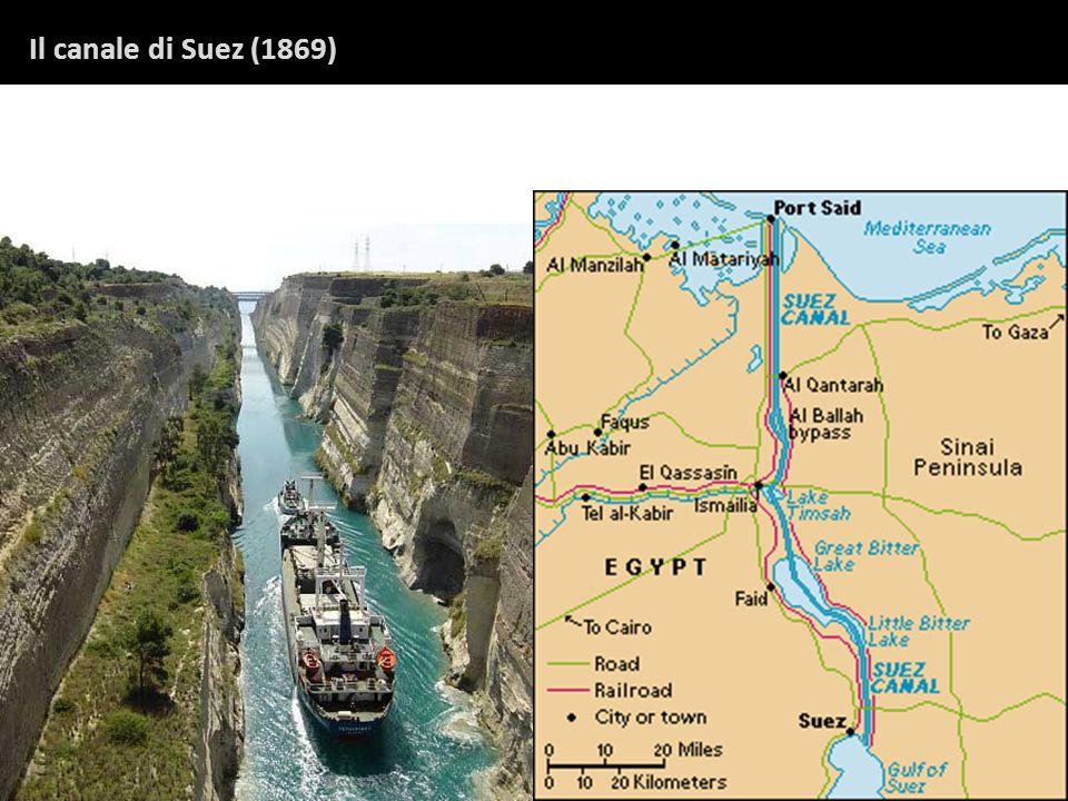 Il canale di Suez (1869)