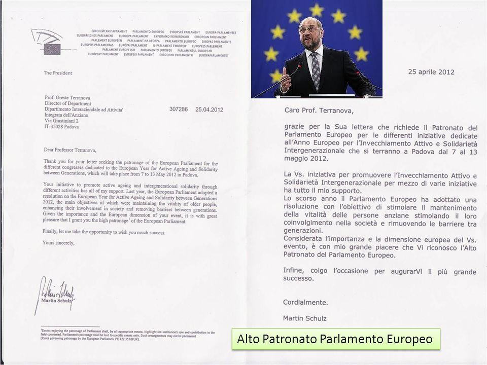 Alto Patronato Parlamento Europeo