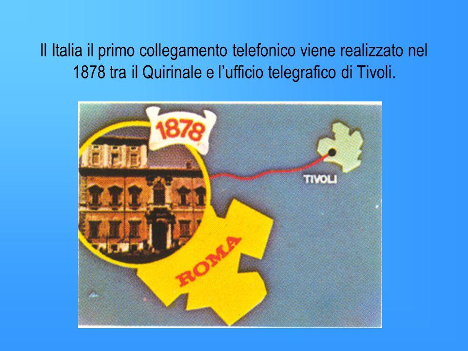 Negli anni successivi il tedesco Reis e lamericano Bell perfezionano la scoperta di Meucci. Bell è il primo che pensa ad usare la scoperta commercialm
