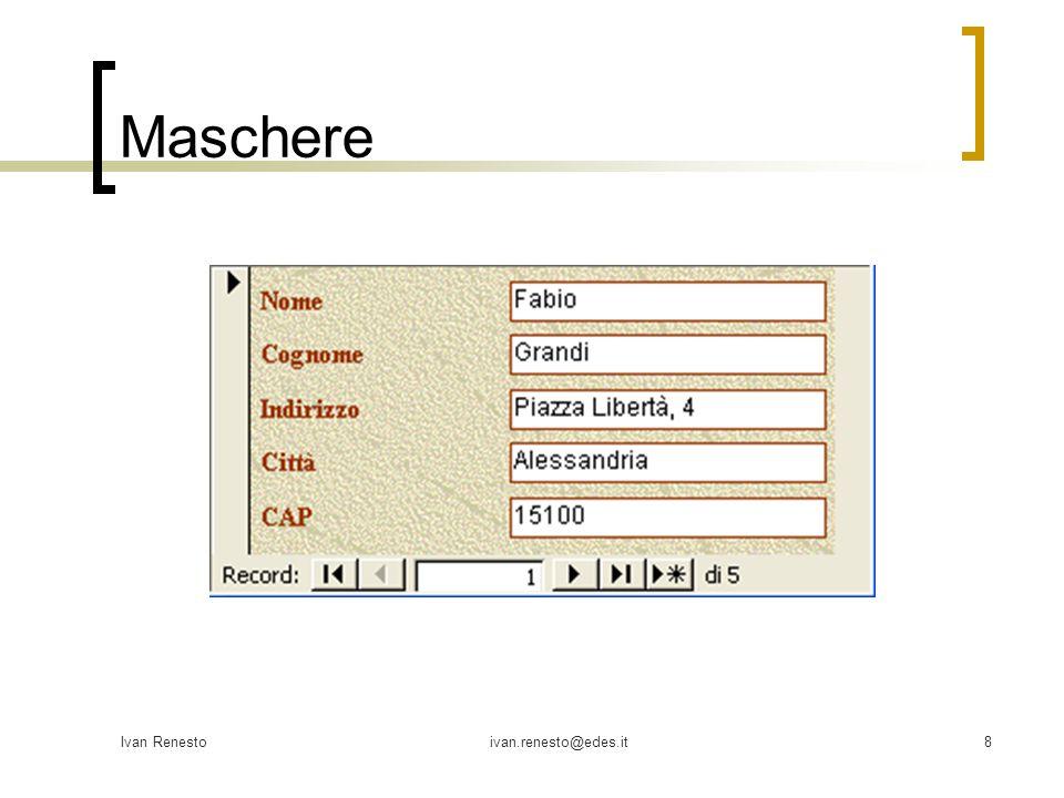 Ivan Renestoivan.renesto@edes.it8 Maschere