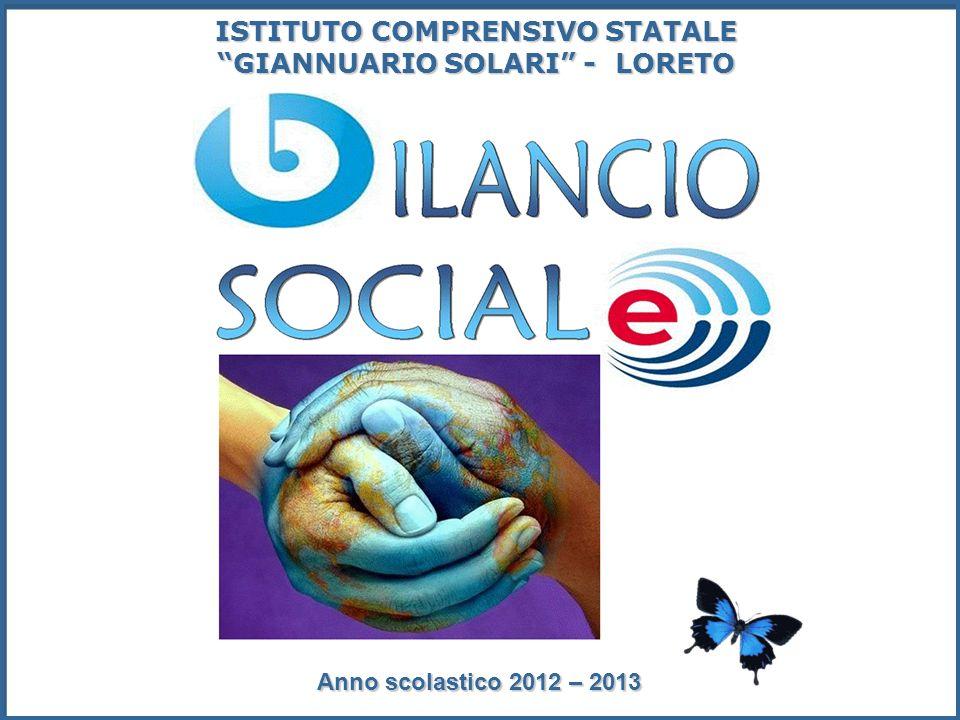 ISTITUTO COMPRENSIVO STATALE GIANNUARIO SOLARI - LORETO Anno scolastico 2012 – 2013