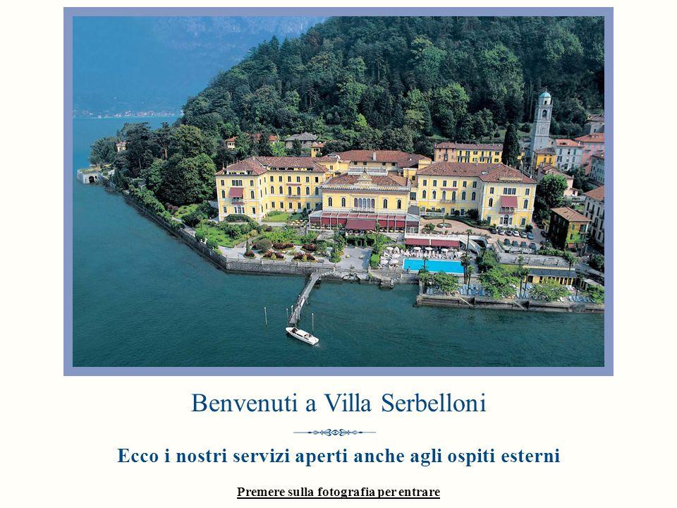 Premere sulla fotografia per entrare Benvenuti a Villa Serbelloni Ecco i nostri servizi aperti anche agli ospiti esterni