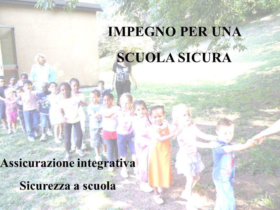 IMPEGNO PER UNA SCUOLA SICURA Assicurazione integrativa Sicurezza a scuola