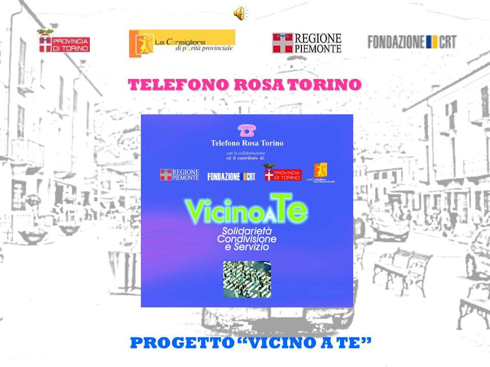 TELEFONO ROSA TORINO PROGETTO VICINO A TE
