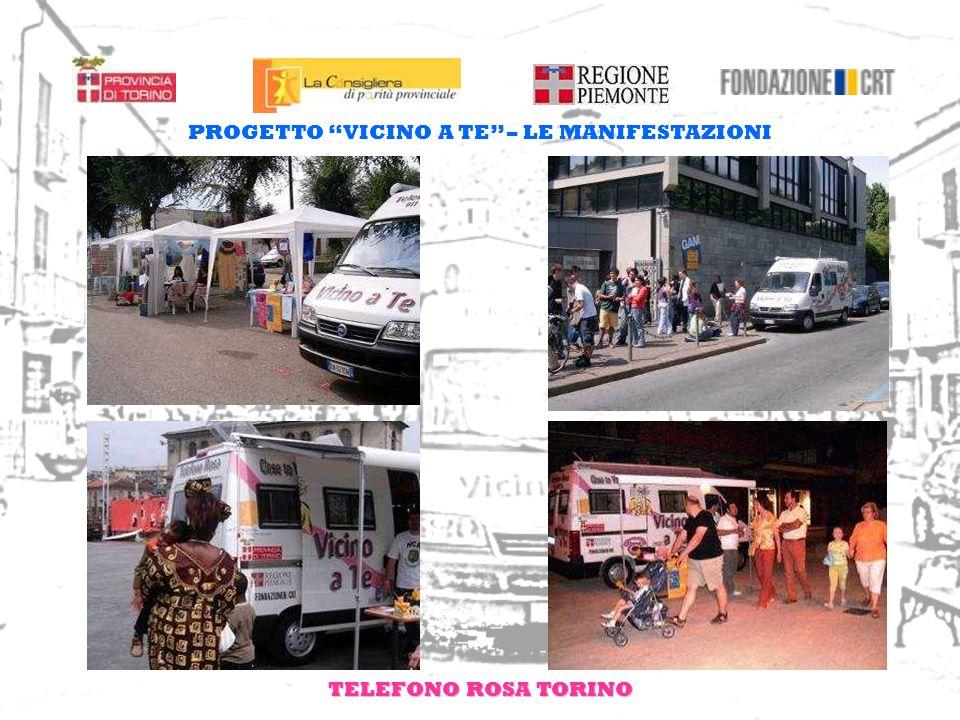 TELEFONO ROSA TORINO PROGETTO VICINO A TE – LE MANIFESTAZIONI